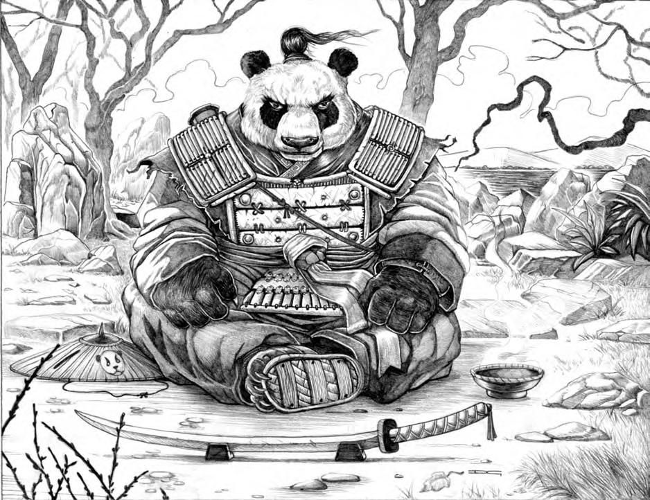 pand warrior art b and w drawings pinterest samurai creature concept and sketches. Black Bedroom Furniture Sets. Home Design Ideas