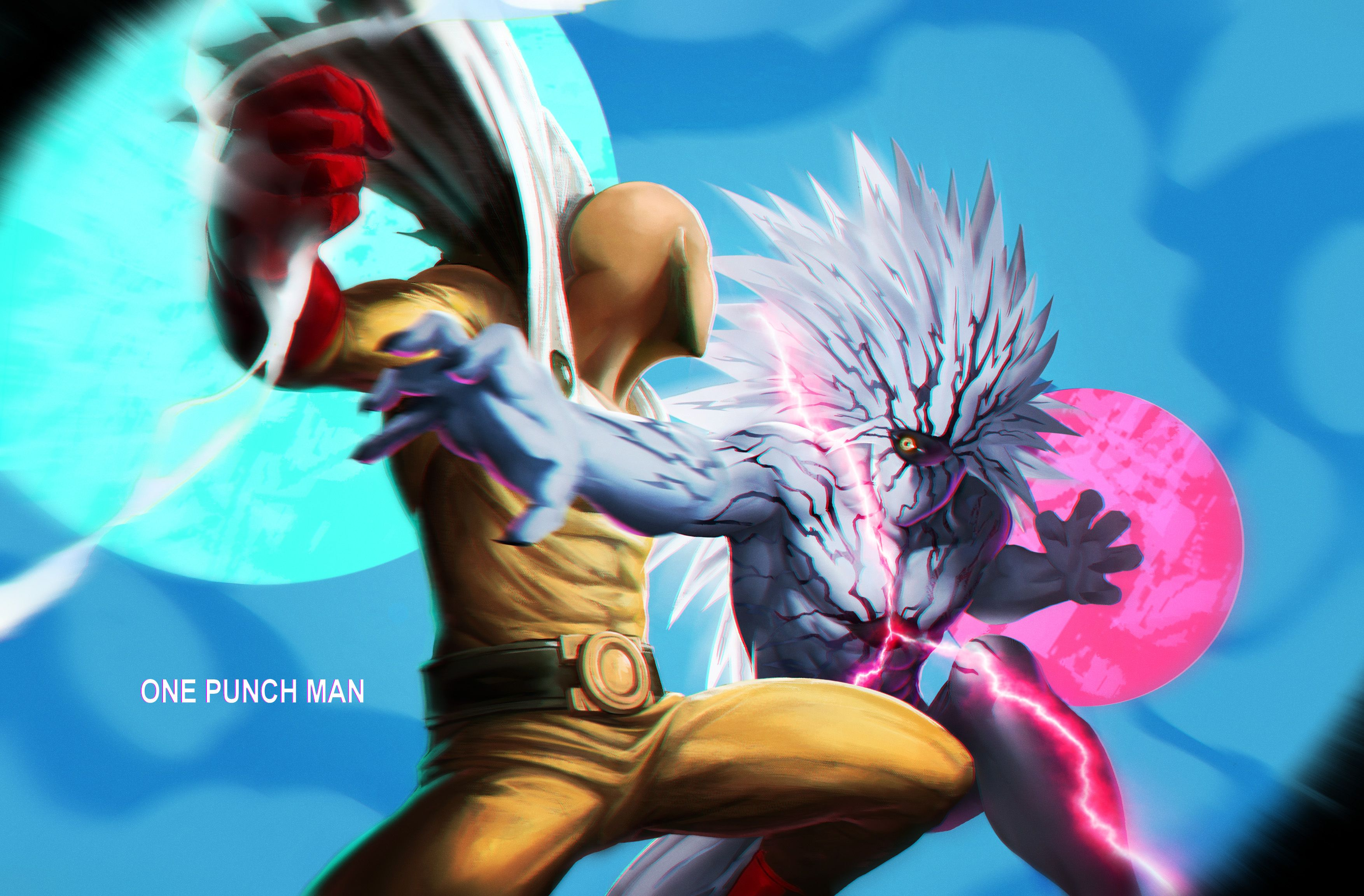 Saitama Vs Lord Boros Computer Wallpapers Desktop Backgrounds 3508x2304 Id 671480 One Punch Man Anime One Punch Man One Punch Man Manga