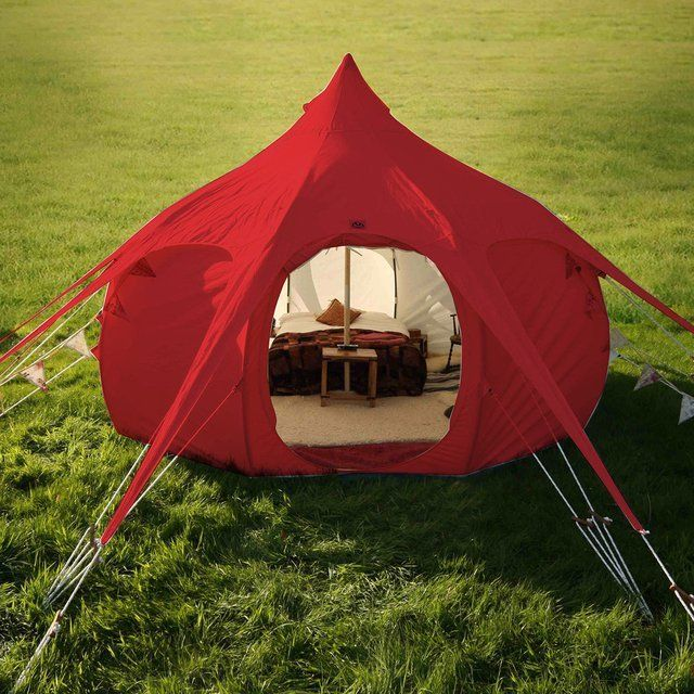 Red Outback Tent By Lotus Belle Lotus Belle Tent Tent Glamping Tent
