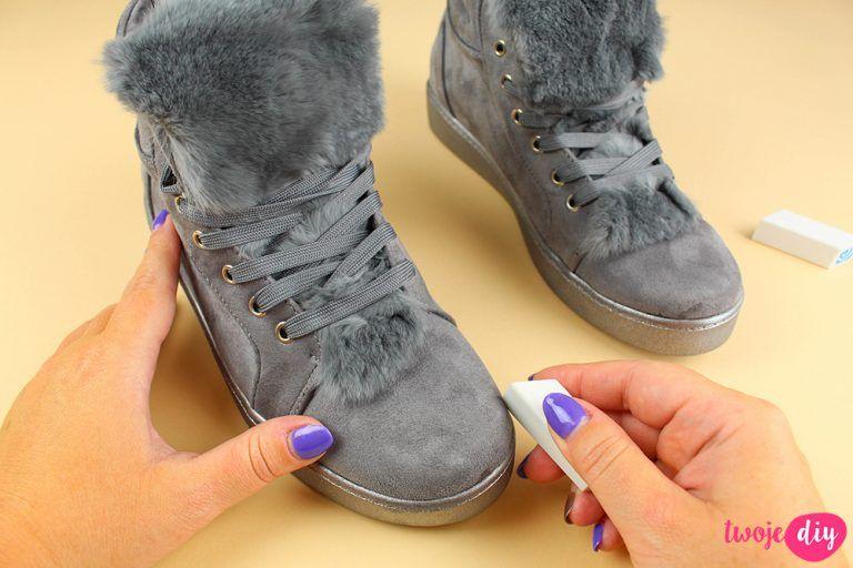 Jak Wyczyscic Buty Z Zamszu I Nubuku 9 Domowych Sposobow Twoje Diy Home Hacks Useful Life Hacks Shoes