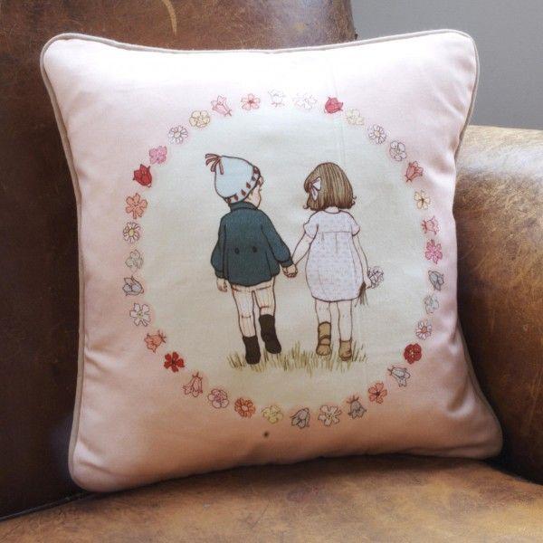 """Together"" Cushion"