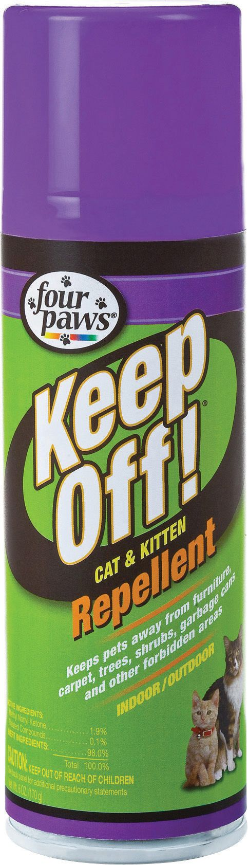 Cats Keep Off Indoor/outdoor Cat Repellent By Four Paws 6