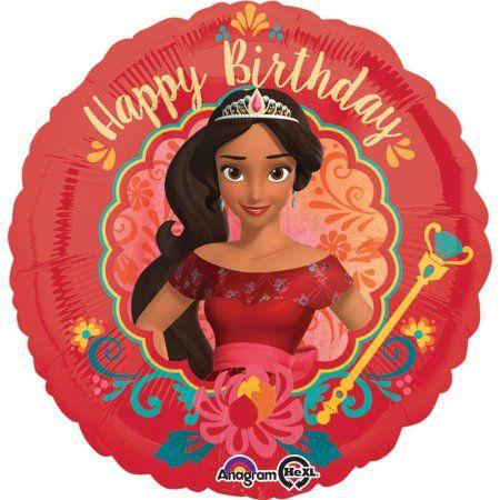 Elena Of Avalor Birthday 18 Balloon