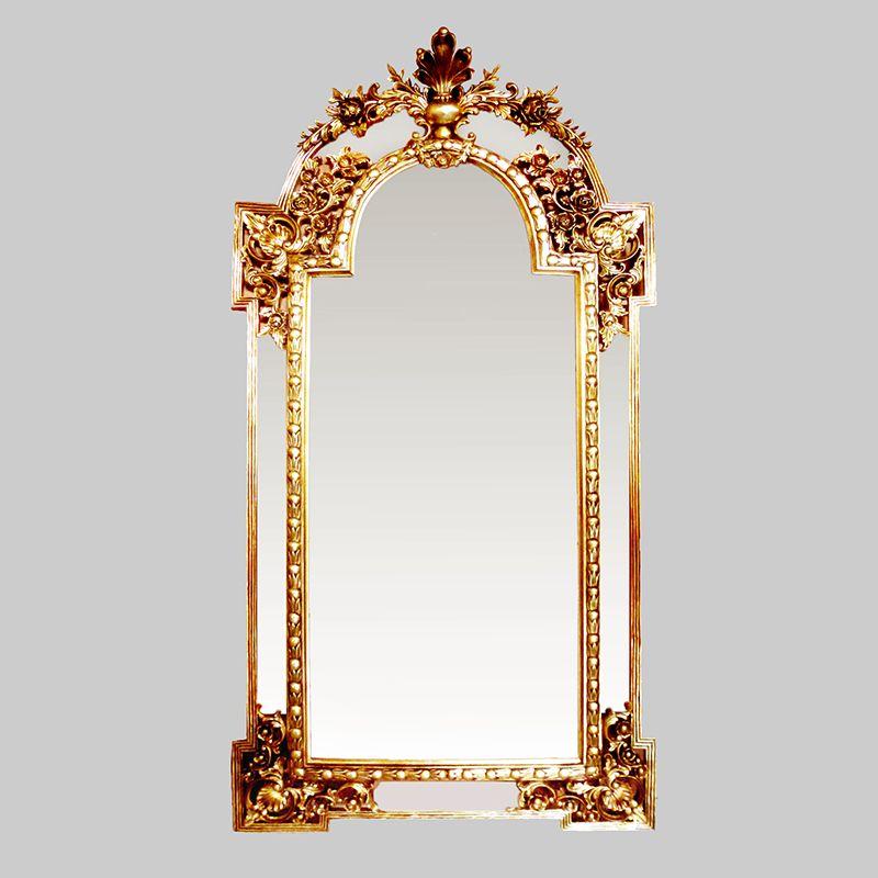 Pin Di Wooden Frame Mirror