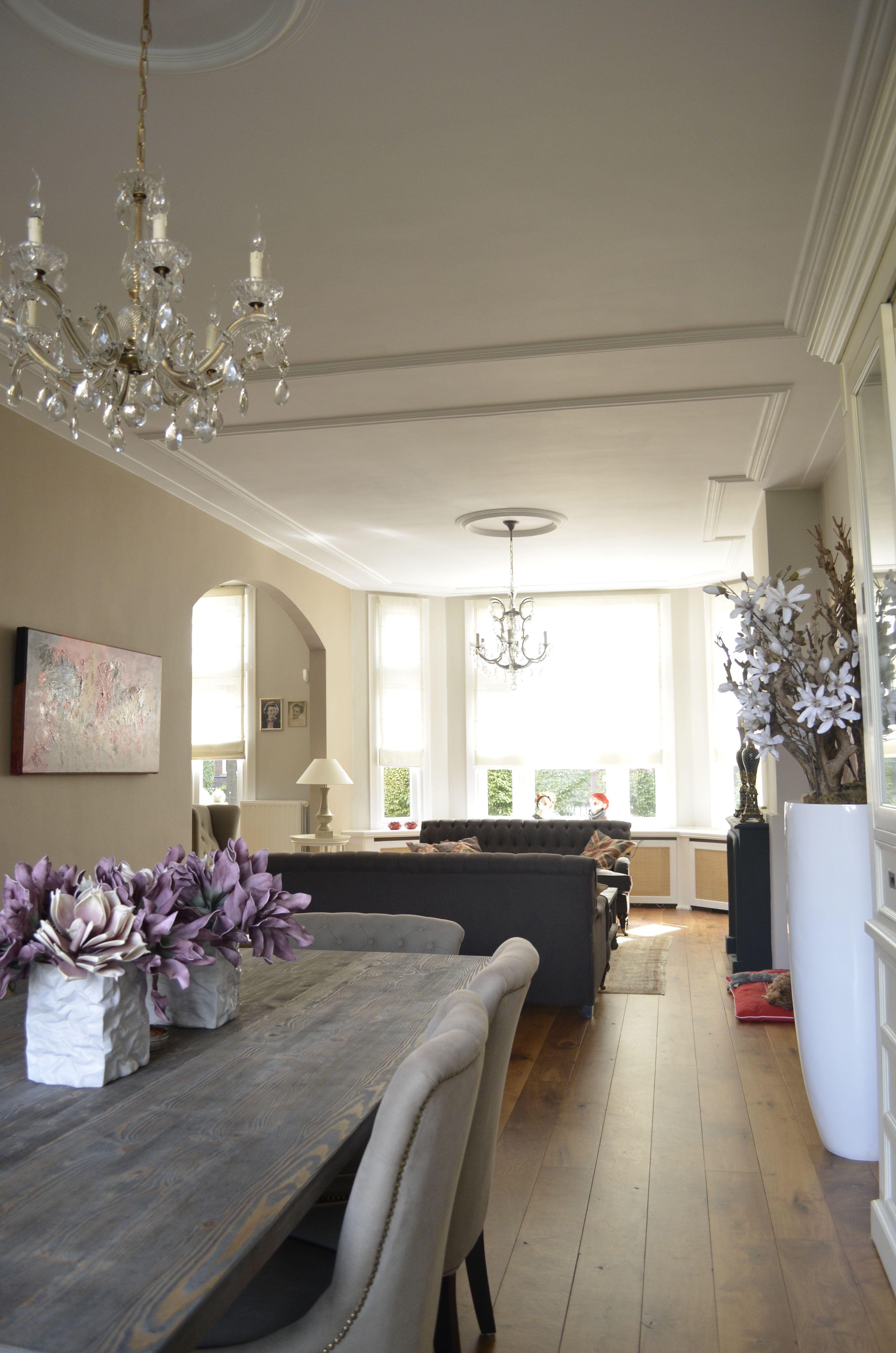 Decoratie ideeen woonkamer for Klassiek moderne inrichting