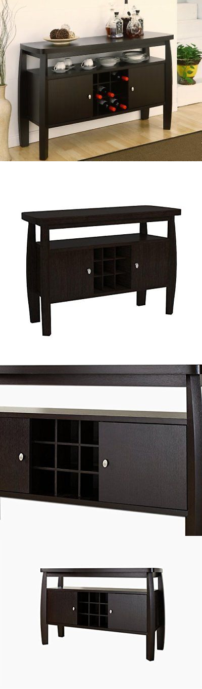 Sideboards And Buffets 183322 Iohomes Clyton Dining Buffet Dark Espresso BUY IT NOW