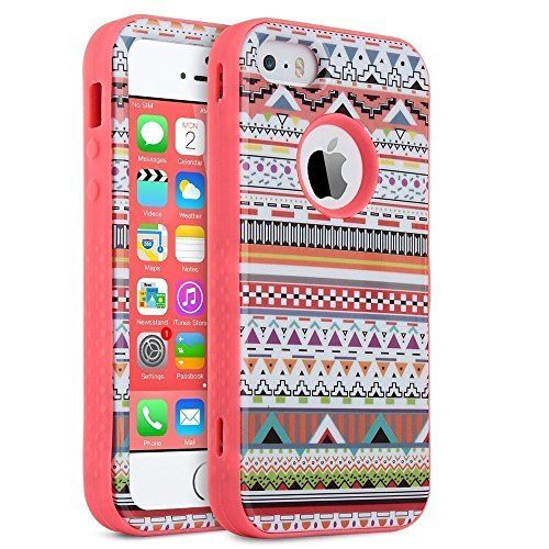2bef8852 ULAK iPhone 5 iphone 5S funda iphone SE Carcasa Case Cover 3en1 ...