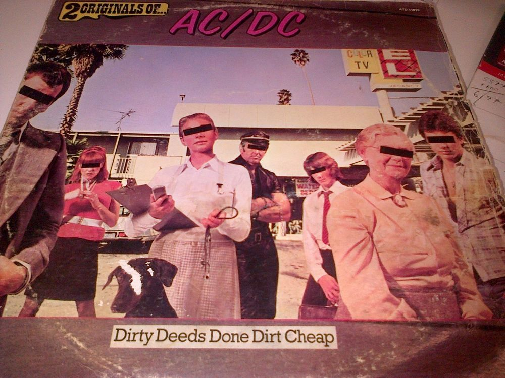 AC/DC RARE 2 Originals of.South African release Only!