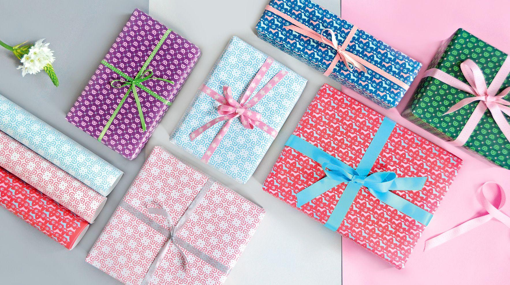 Bayerisches Geschenkpapier \