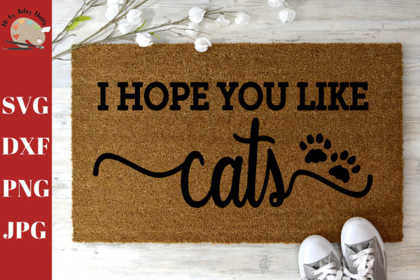 Funny Cat Welcome Mats