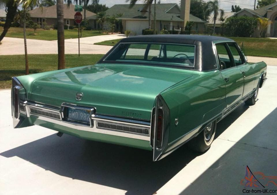 1966 Cadillac Fleetwood Brougham Cadillacclassiccars Cadillac