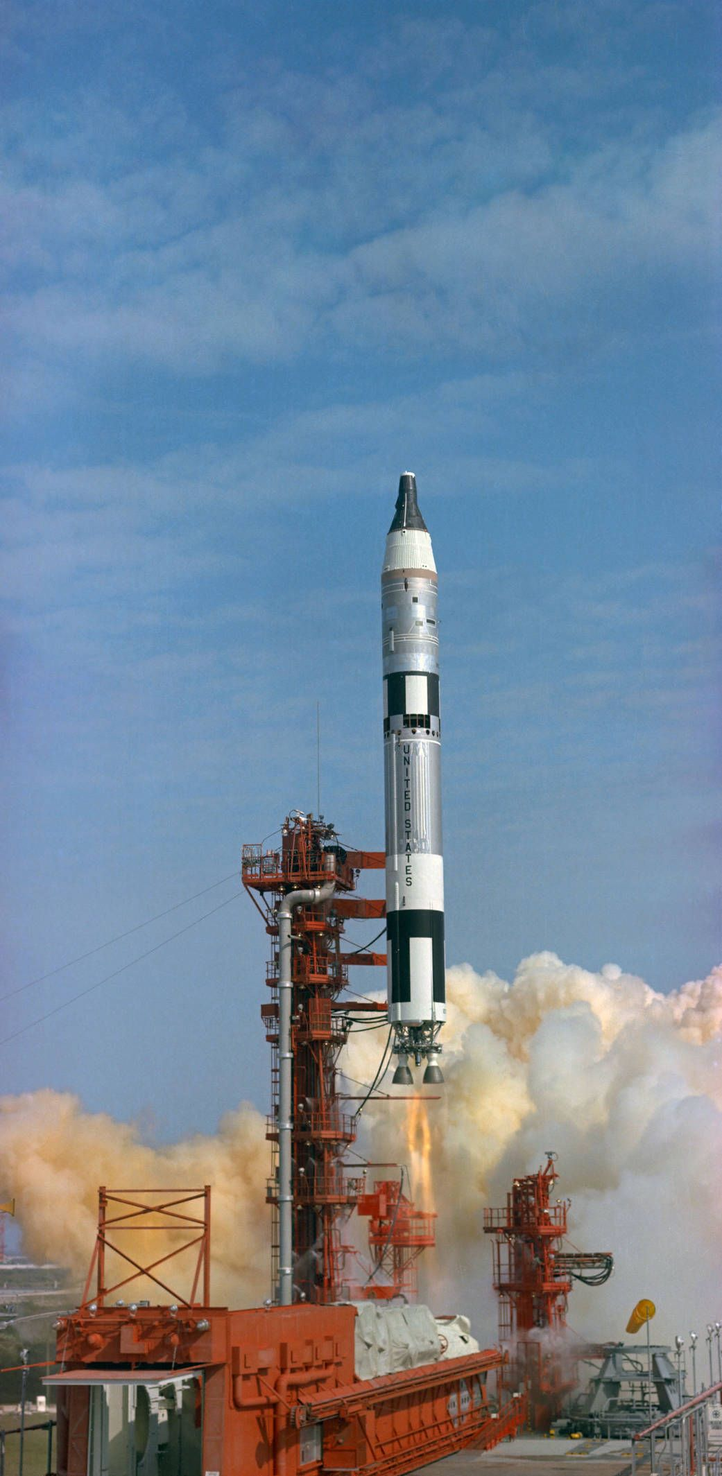 March 23 1965 Launch of First Crewed Gemini Flight