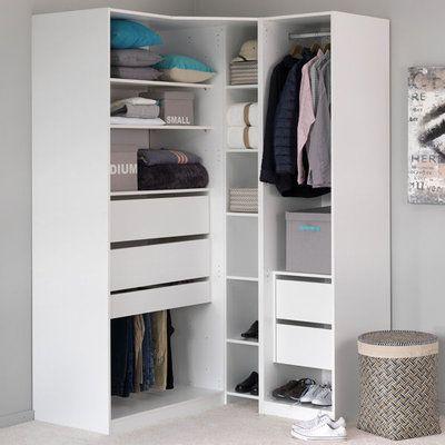 Armoire De Rangement En Angle D Alinea Armoire Rangement Mobilier De Salon Dressing Chambre