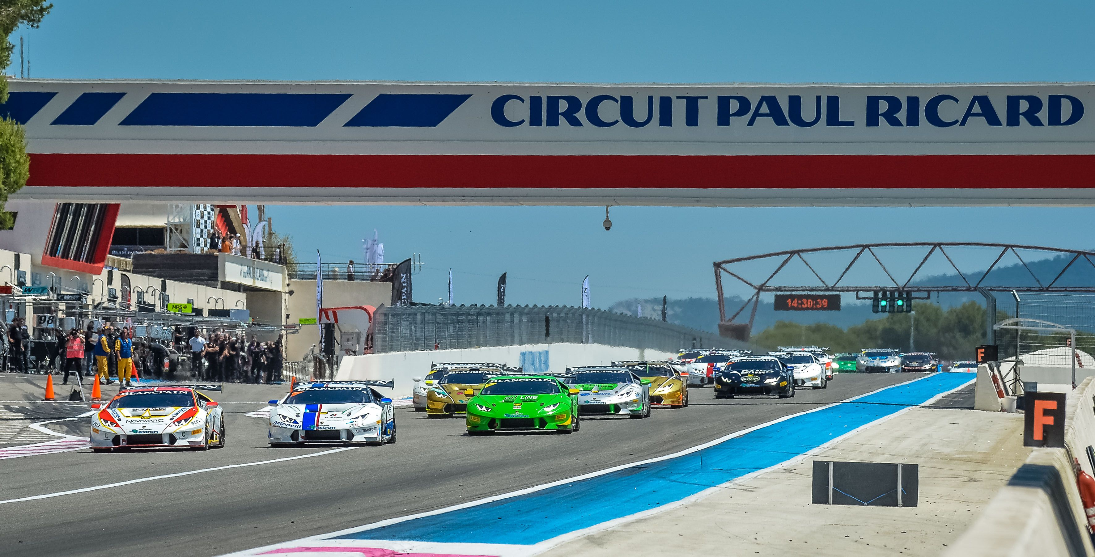 Motor'n | THE LAMBORGHINI BLANCPAIN SUPER TROFEO EUROPE AT PAUL RICARD WITH 47 CARS ON GRID