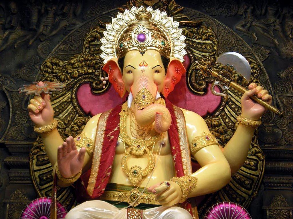 Wallpaper download ganesh - Lalbaugcha Raja Ganpati Wallpaper Download