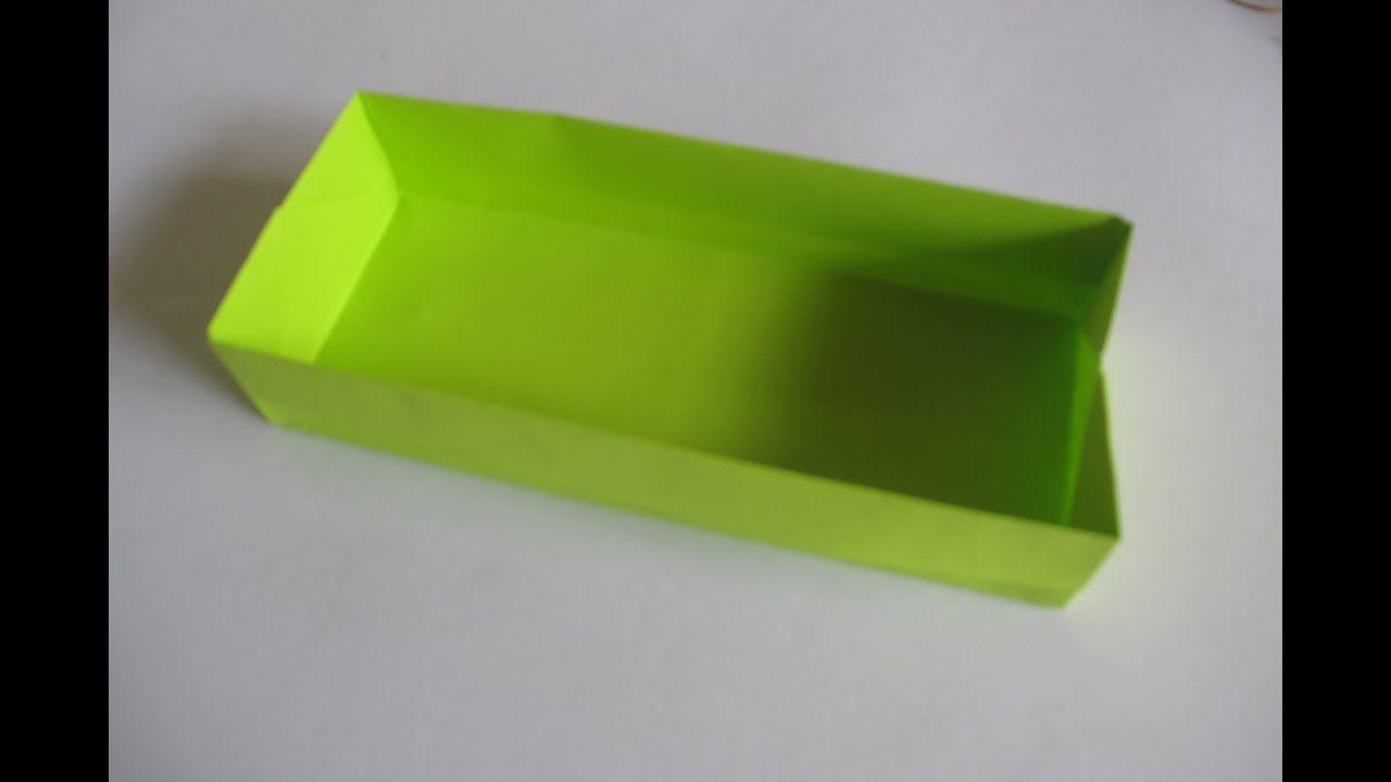 Origami Masu Box with Lid: Tutorial - YouTube | 720x1280