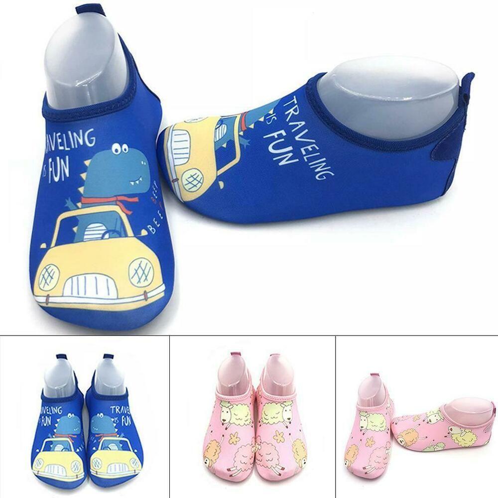 eBay Sponsored) Children Swimming Shoes Cartoon Rubber Sole