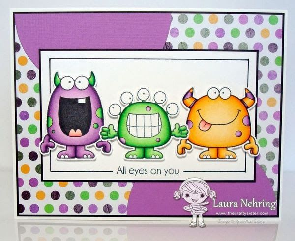 Your Next Stamp Fun Friday October Challenge - Silly Monsters