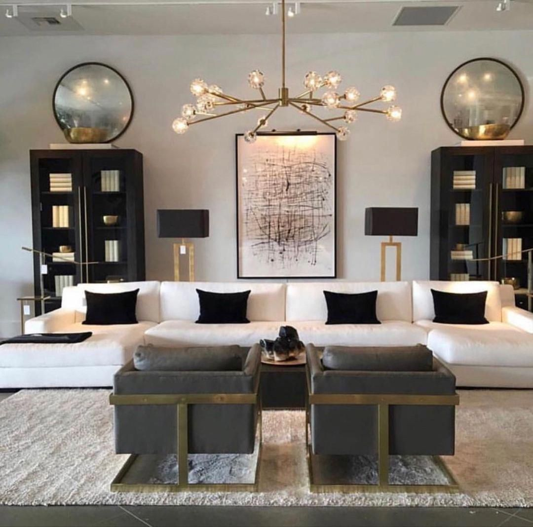 Group Whatever Into A Folder Or Pinterest Board To Keep A Clear And Coherent Vision In One Spa Living Room Decor Modern Living Room Lighting Luxury Living Room