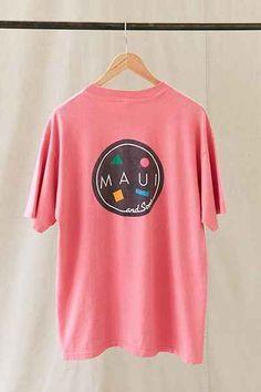 54d775508 vintage 80's maui and sons shirt t shirt rare edition skateboard ...