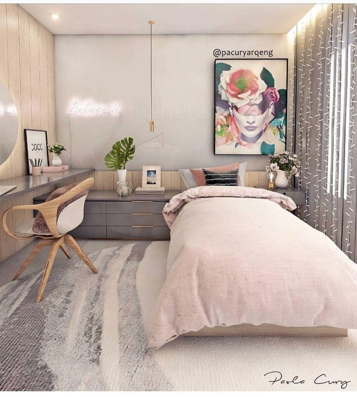 27 Small Bedroom Ideas Design Minimalist and Simple ... on Tiny Teenage Bedroom Ideas  id=96955