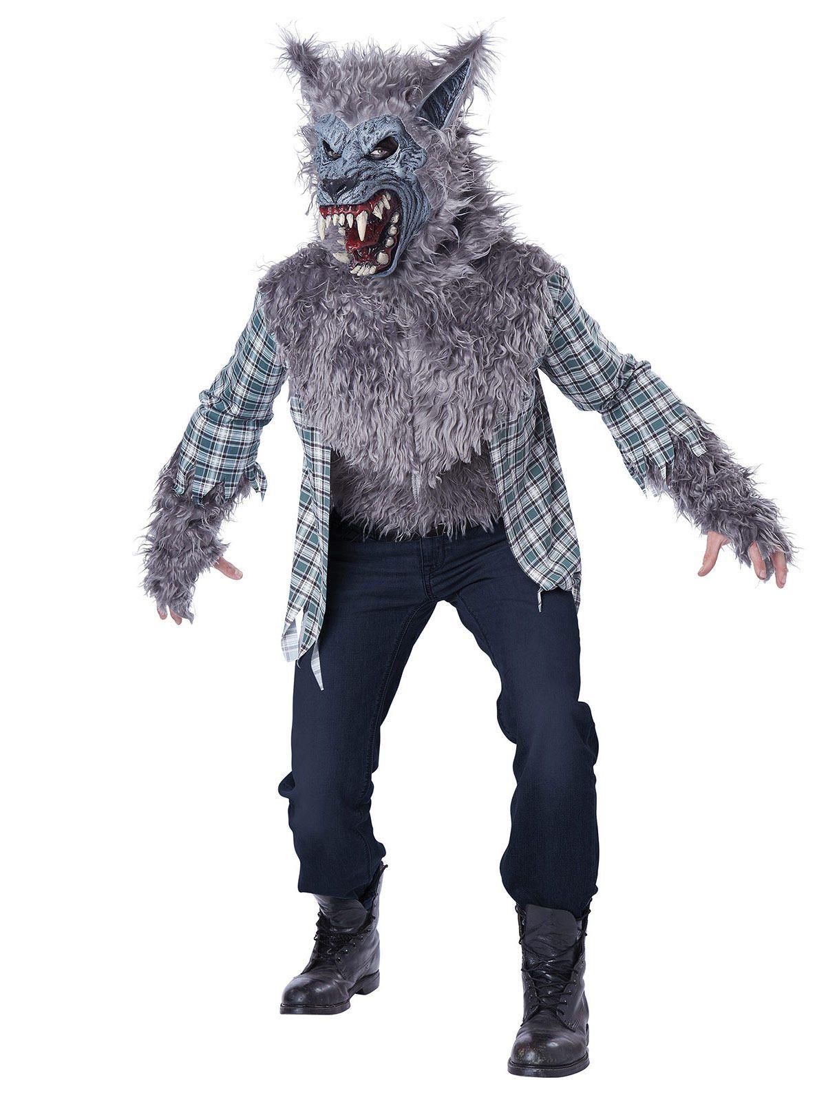 Costume lupo mannaro adulto  Questo costume da lupo mannaro é per adulti.  Possiede una ed4d8f307b25