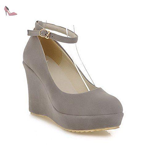 Chaussures BalaMasa grises femme JJyqIyzr