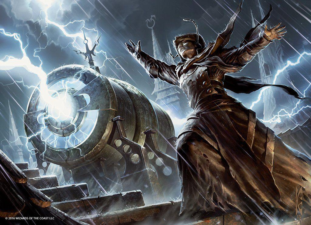 Harness The Storm Mtg Art Magic Art Fantasy Artwork