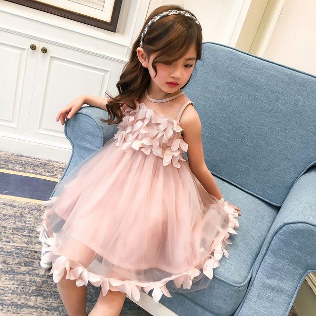AOSTA BETTY Princess Girls Dress Costume Girl Party Dress Lace ...
