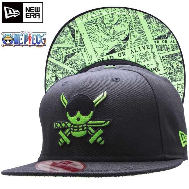 Roronoa Zoro One Piece New Era Hats  89c6f84fc7f