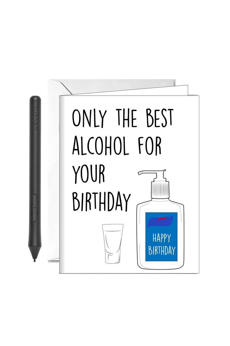 Social Distancing Birthday Card Funny Birthday For Friend Etsy Birthday Cards For Friends Dad Birthday Card Funny Birthday Cards