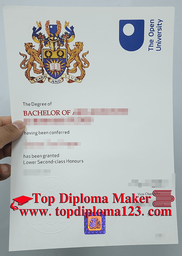 How To Buy Fake Open University Bachelor Degree Buy Certificate
