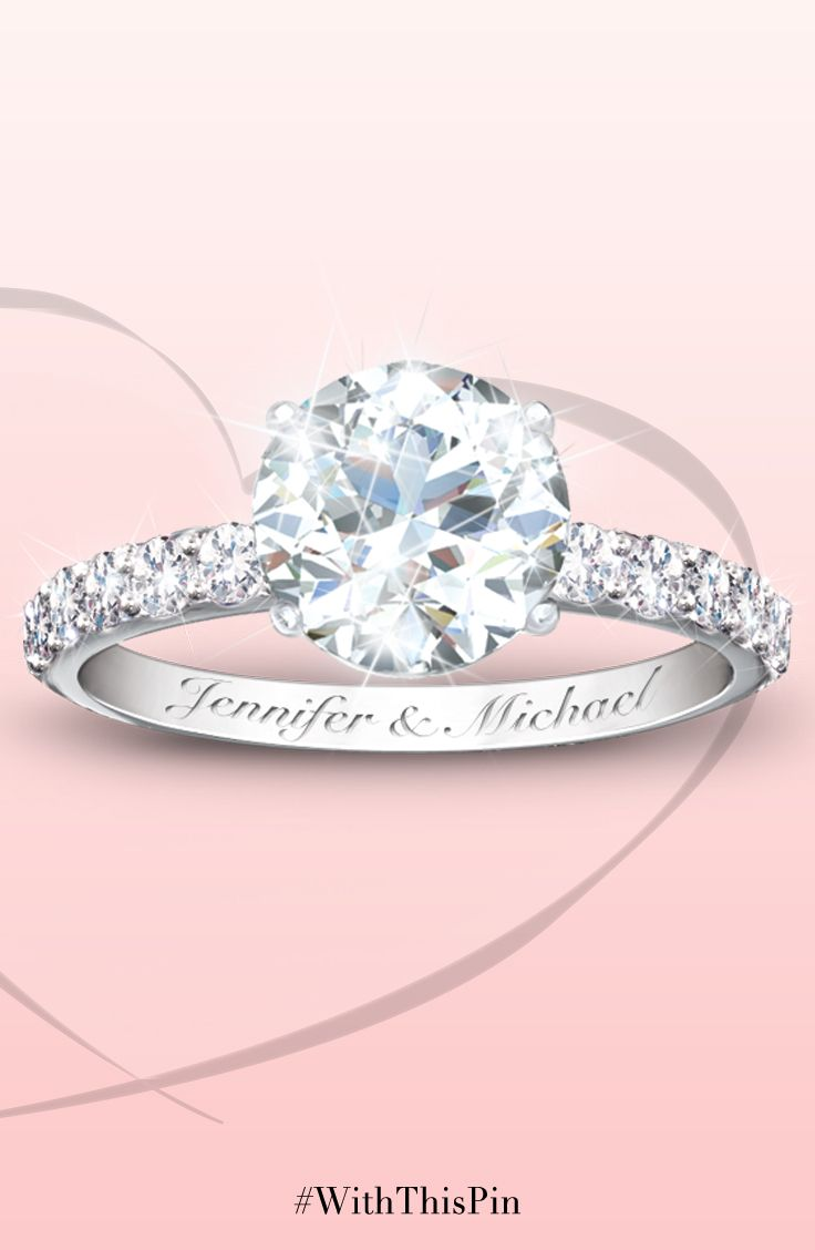 Personalized Diamonesk Bridal Ring: Choose From 5 Designs ...