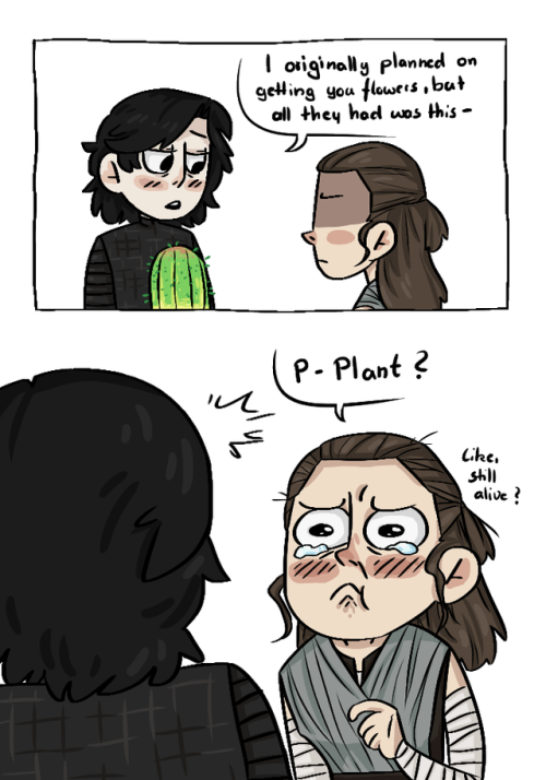 Reylotogo Give Her Some Plants To Take Care Of Funny Star Wars Memes Star Wars Humor Star Wars Fandom
