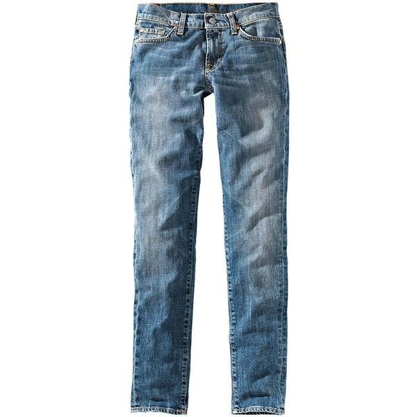 7 FOR ALL MANKIND Jeans Skinny ($245) ❤ liked on Polyvore featuring jeans, pants, skinny jeans, blue jeans, skinny fit jeans, 7 for all mankind skinny jeans and super skinny jeans
