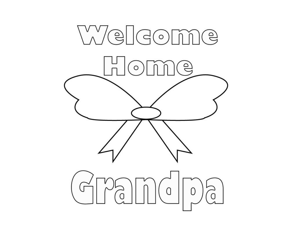 Wonderful Welcome Home Coloring Pages Welcome Home Coloring