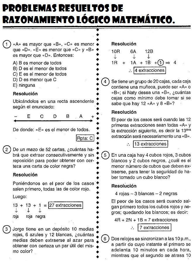 Problemas Cuarto De Primaria | Resultado De Imagen De Problemas De Matematicas De 6 De Primaria