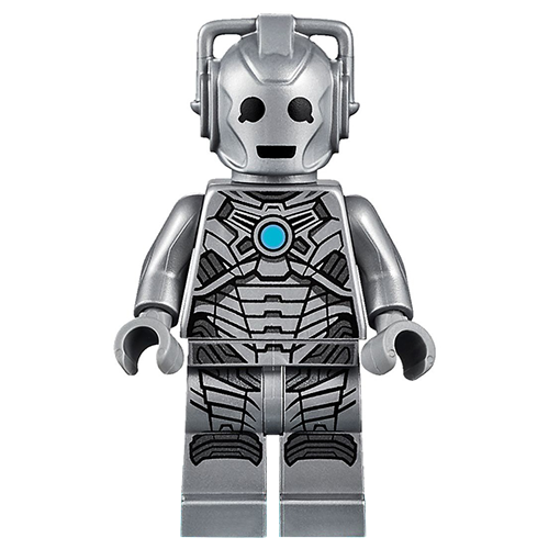 LEGO Doctor Who Cyberman Minifigure from 71238