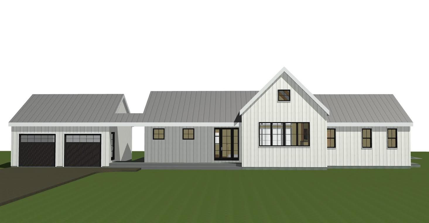 Post And Beam Single Level Plan The Wildwood House Plans Farmhouse Barn Style House Plans Farmhouse Plans
