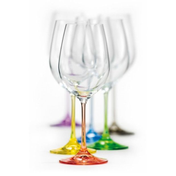 David Shaw Silverware Rainbow All Purpose Wine Glass