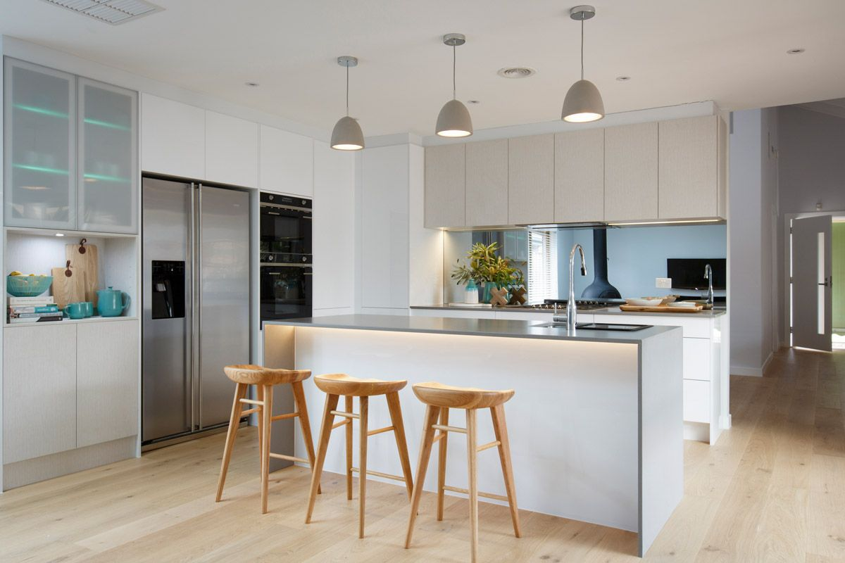 Freedom Furniture Kitchen Stools Nick And Chris Reno Rumble Freedom Kitchens Sleek Concrete 4
