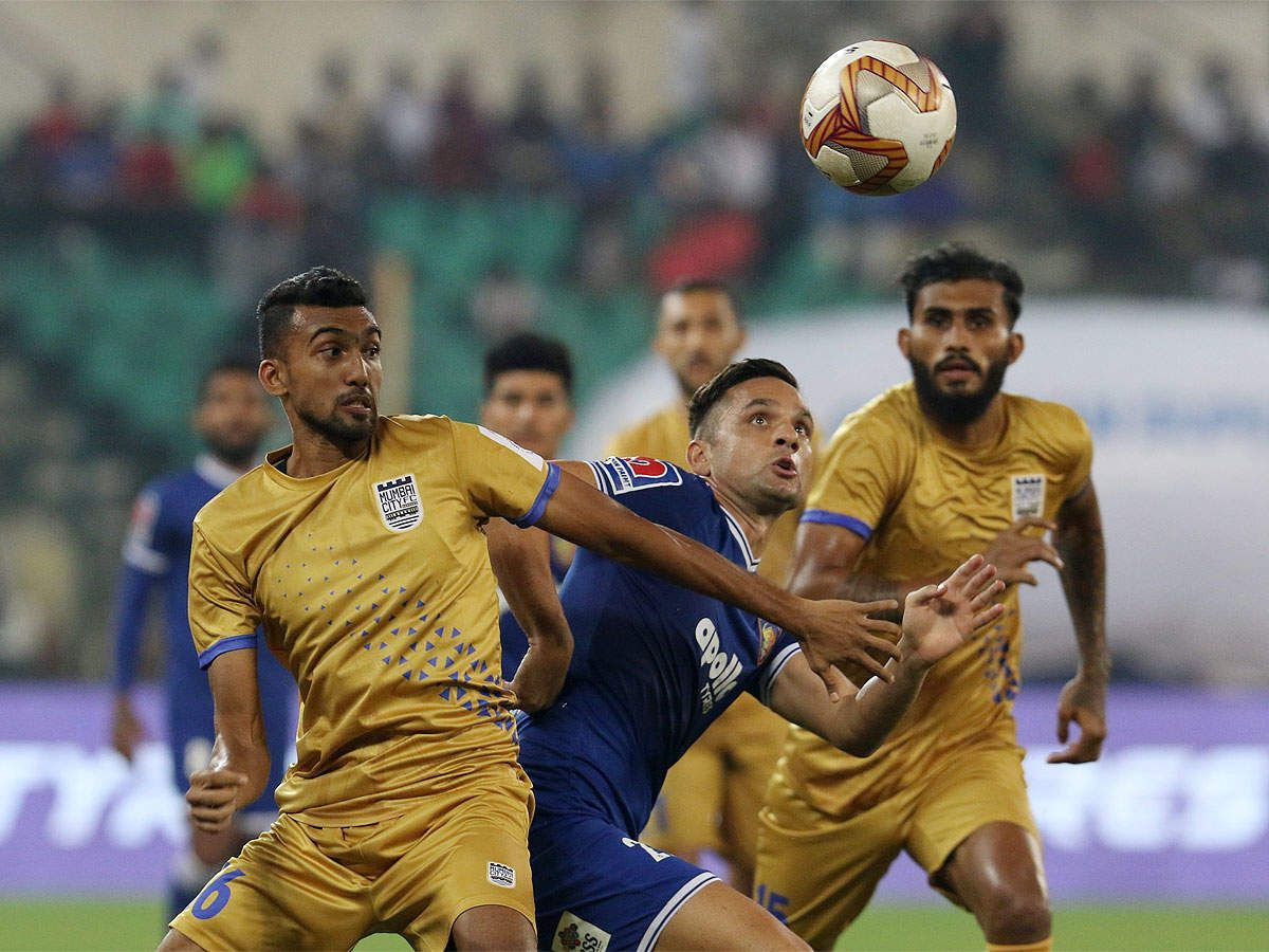 ISL Draw with Chennaiyin puts Mumbai jointtop (With