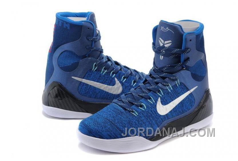 296b88da61c6 New Nike Kobe 9 IX Elite Legacy Brave Blue Men Size 10 630847-404