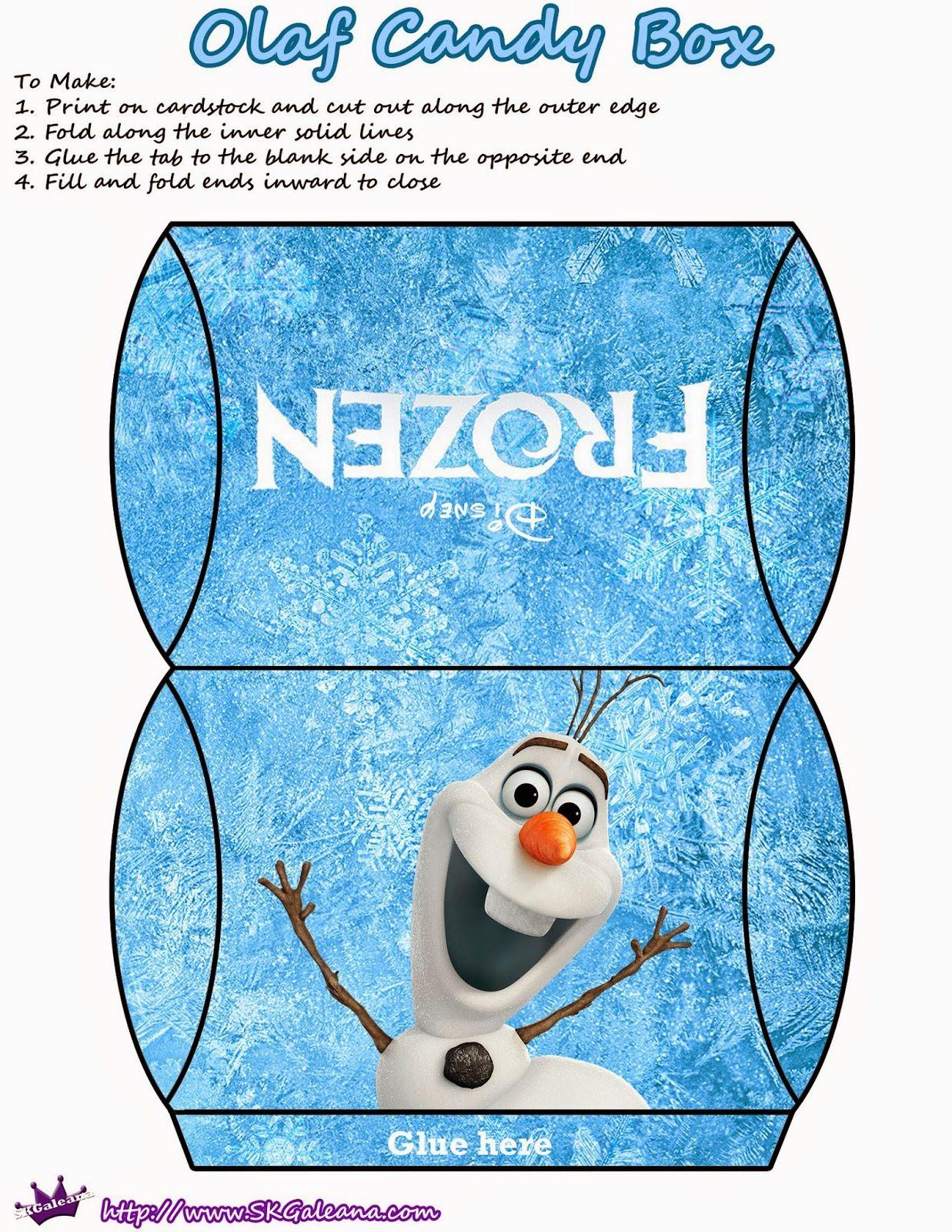 Frozen cajas almohada para imprimir gratis princesa frozen pinterest imprimir gratis - Almohada mimos ...
