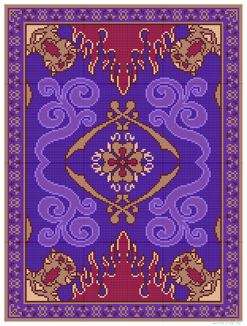 558960b5c Ravenpuff & Magic Stuff: Aladdin's Flying Carpet- Free graph ...