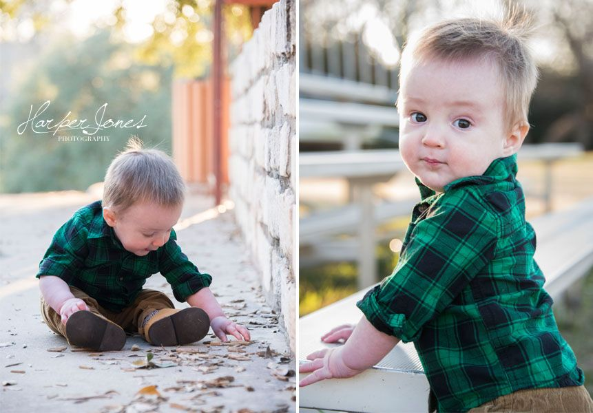 Harperjonesphotography Com A Sweet 11 Month Old Baby Boy Photoshoot At Dittmar Park In South Austin Texas By H Baby Boy Dress Cute Baby Boy 11 Month Old Baby