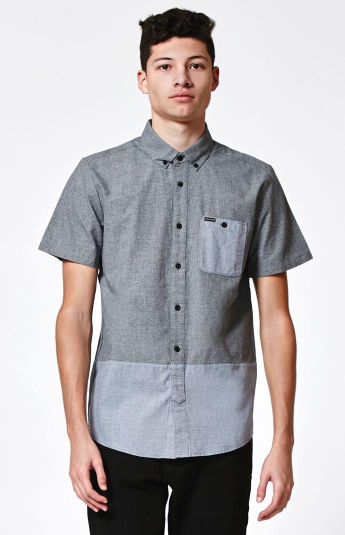 Holstein Short Sleeve Button Up Shirt   men style   Pinterest ...