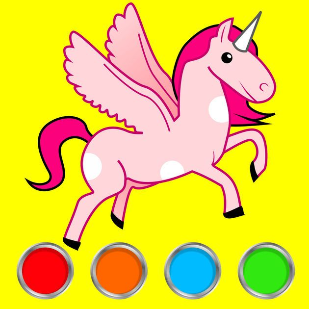 NEW #iOS #APP Coloring Book: Painting Game For Kids!!! - Hovsep ...