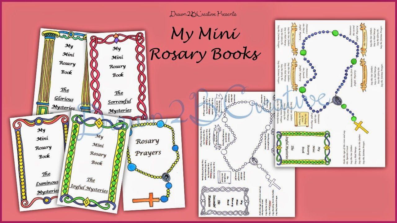 Drawn2BCreative: Mi Mini Rosario Libros