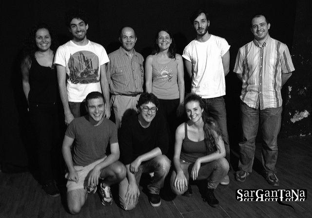 foto de l'equip de la Cuina, 6 cicle by Cia SarGanTaNa